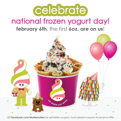 Free froyo