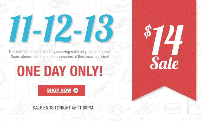 11 12 13 November 12th 2013 deals 6pm