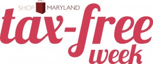 Shop Maryland Tax Free Week