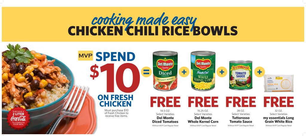Meal Deal Chicken Chili Rice Bowl Food Lion Giftcard Giveaway