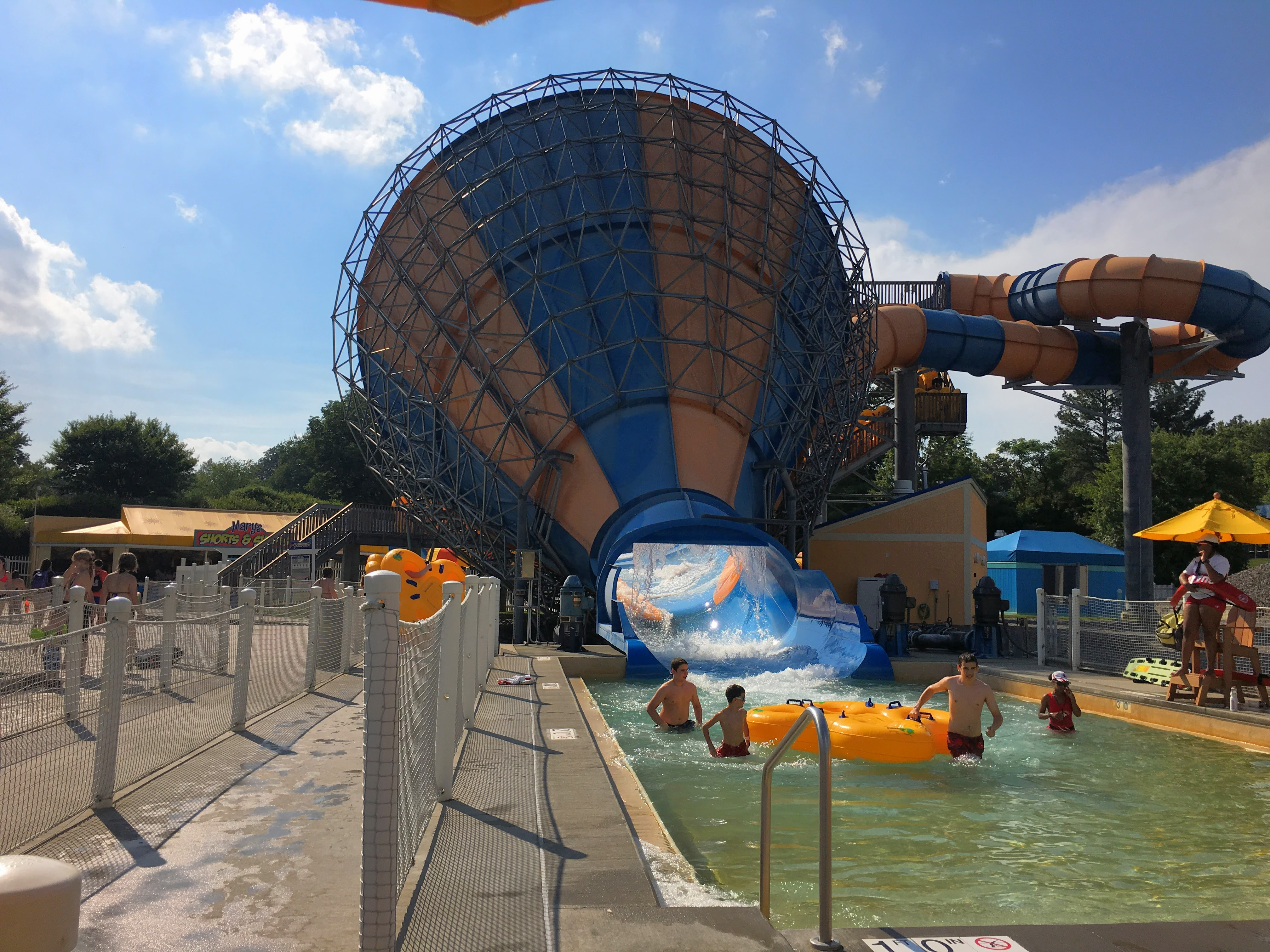 Kings dominion discount coupons - Kings Dominion Tornado Slide And Funnel Raft Ride In Soak City Va
