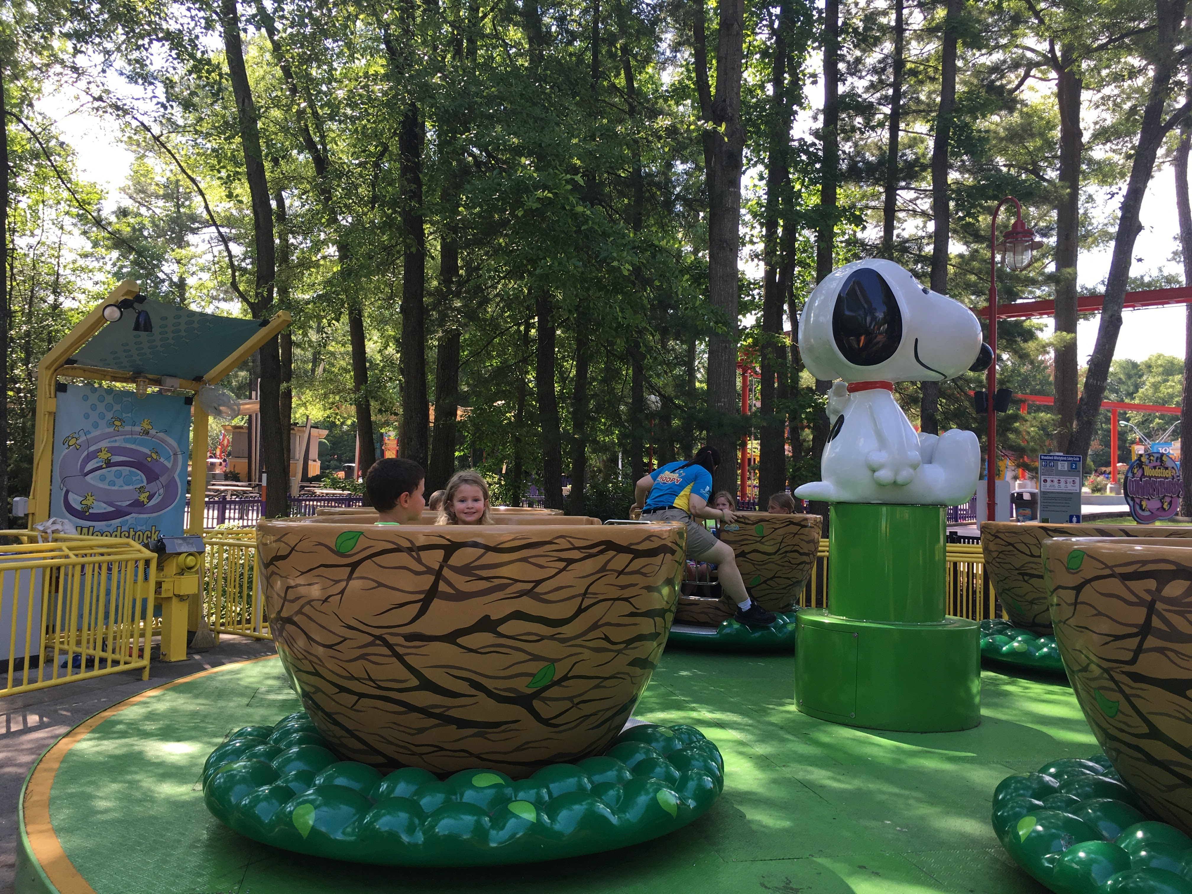 Kings dominion discount coupons - Woodstock Whirlybirds Kings Dominion Teacup Birdsnest Ride For Kids