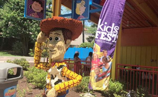 Kings Dominion KidsFest is a free festival for kids happening two consecutive weekends in spring at Virginia's most popular amusement park