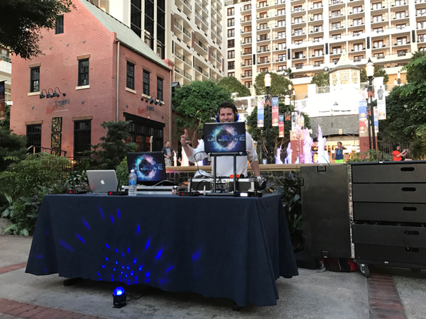 DJ Jayce from Silent Party USA Silent Disco Fun