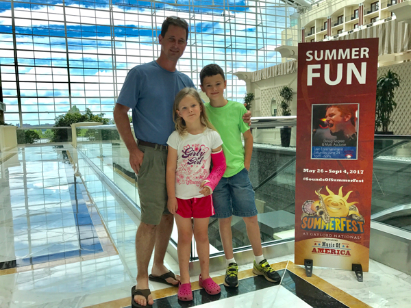 Gaylord National SummerFest Family Vacation
