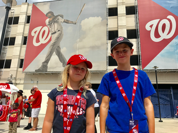 Kids love Family Funday Sunday at Nationals Park DC
