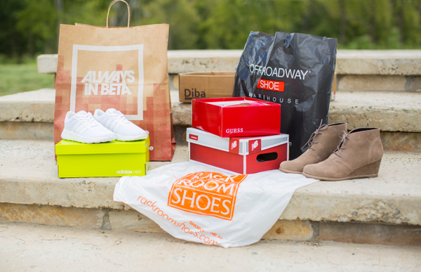 Shoe Boxes Shopping Trip from Potomac Mills Mall