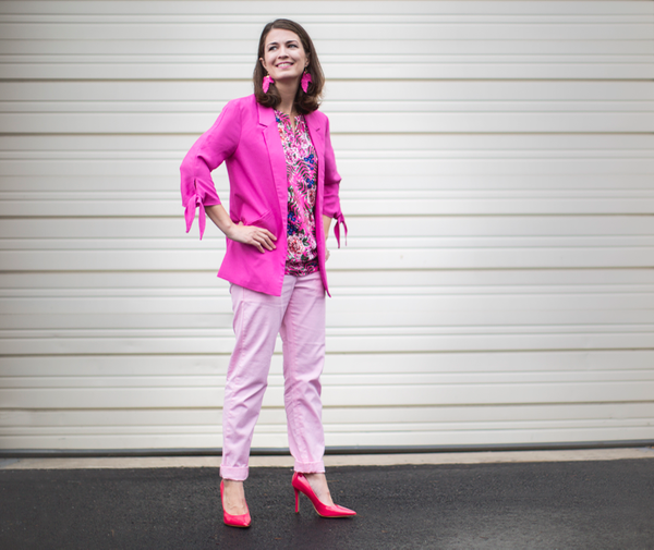 Potomac Mills Pink Outfit Purchased During October More Than Pink Campaign with Donations benefitting Susan G Komen