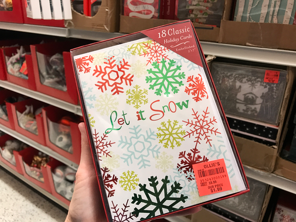 Classic Holiday Cards deals at Ollies Bargain Outlet in VA