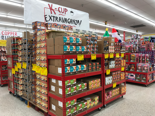 Get deeply discounted KCups at Ollie's Bargain Outlet