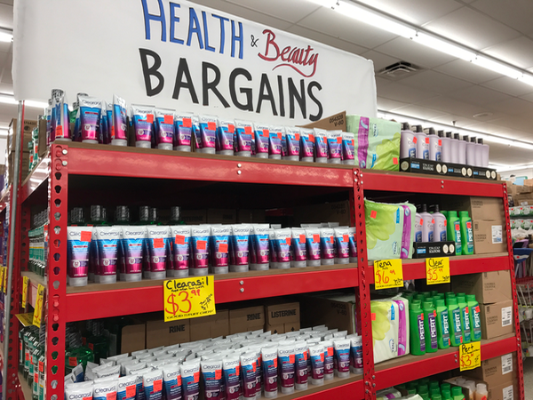 Health and beauty bargains at Ollies Bargain Outlet in Manassas VA