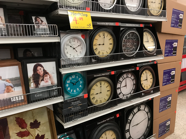 What time is it? Time to save money on clocks and home decor at Ollies Bargain Outlet