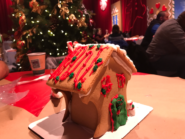 Gaylord National Gingerbread House Decorating in Oxon Hill MD