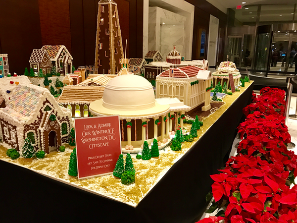 Gaylord National Gingerbread Washington DC Cityscape inside Hotel