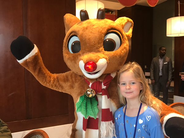 Gaylord National Rudolph Holly Jolly Breakfast DC