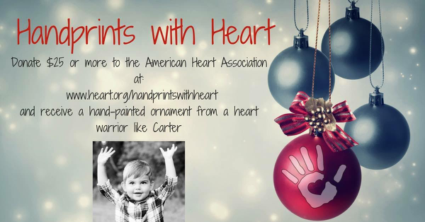 Handprints with Heart American Heart Association Greater Maryland
