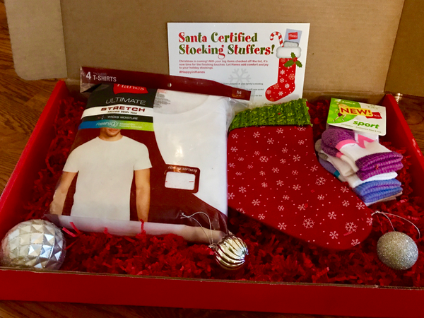 Hanes stocking stuffer gifts for the whole family