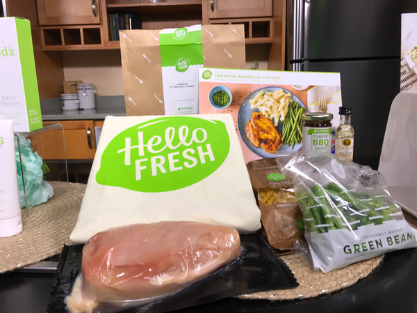 Hello Fresh Mealkit delivery service